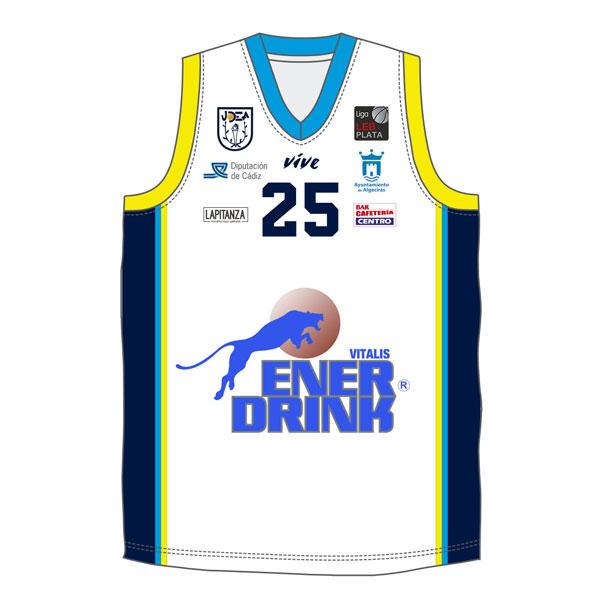 Camiseta Basket Blanca
